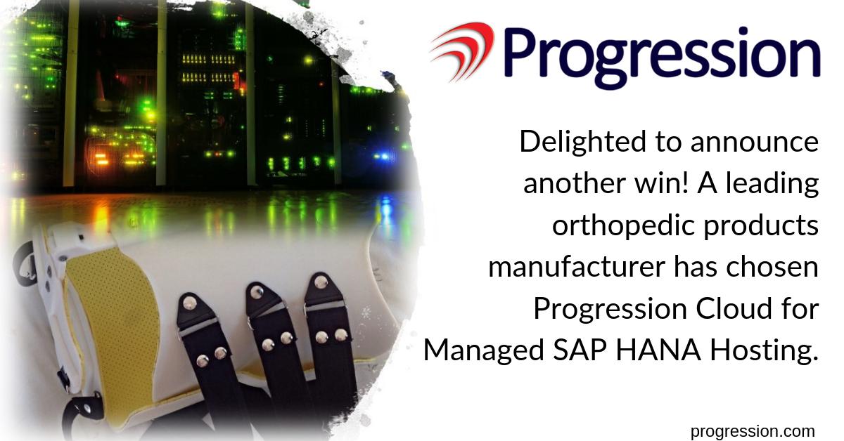 progression cloud sap hana client orthopedic