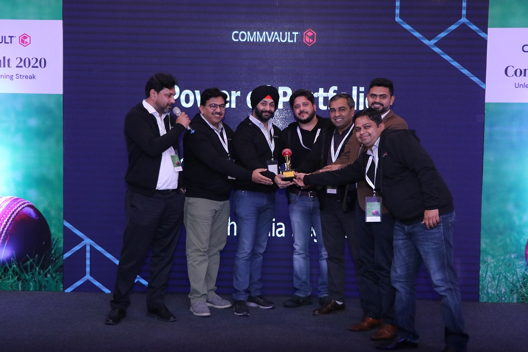 Progression Commvault Award
