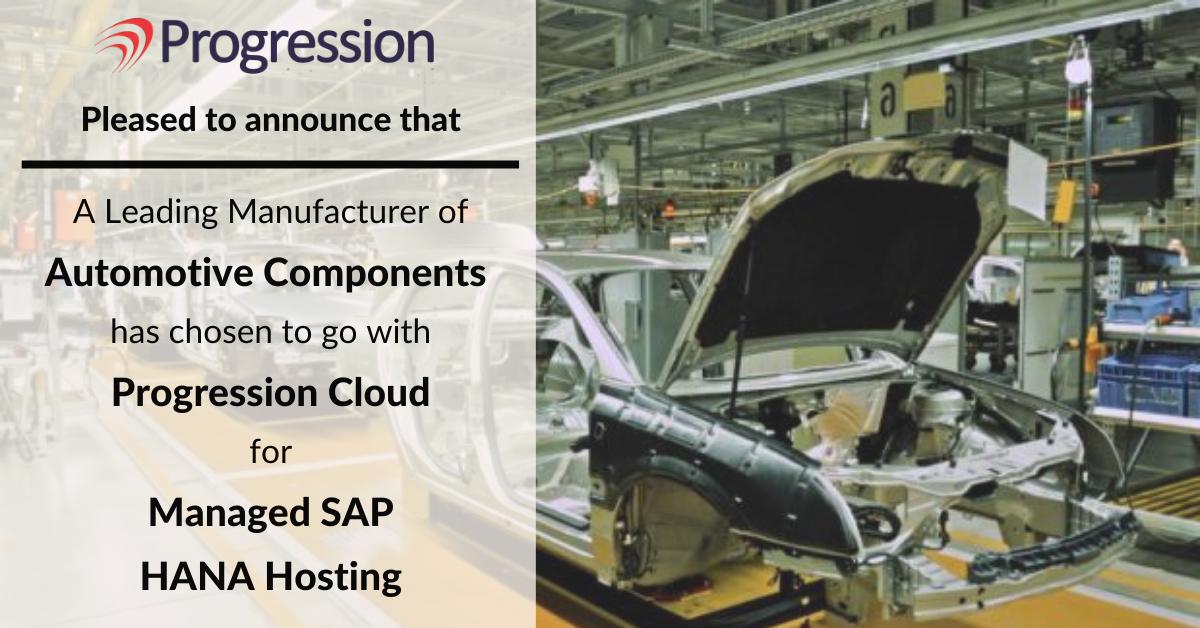Progression SAP HANA Client Automotive Component