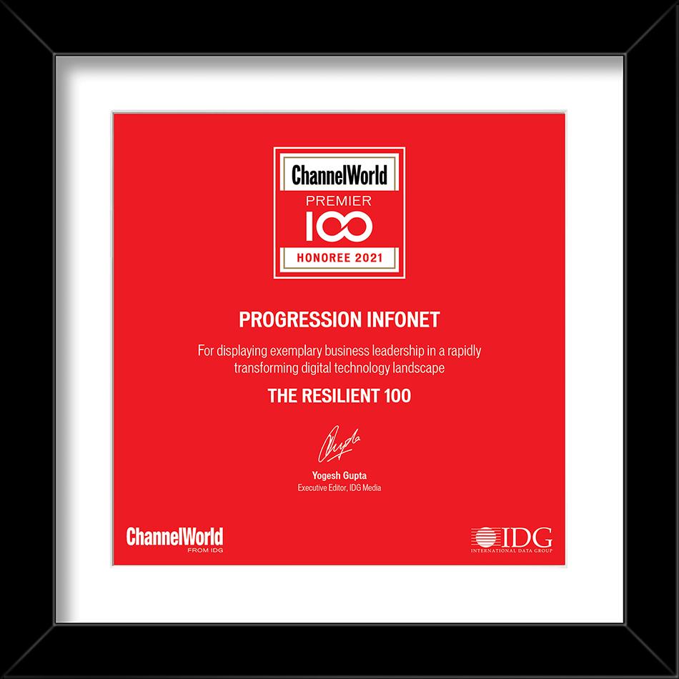 Progression IDG Award